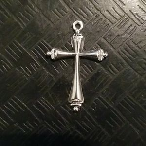 Jewelry - Religious silver alloyed metal cross
